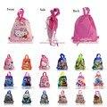 Free DHL-100Pcs Avengers/Star Wars/Pikachu/PVZ/Inside Out/El Chavo/Batman Children Drawstring Backpacks School Party Kids Bags