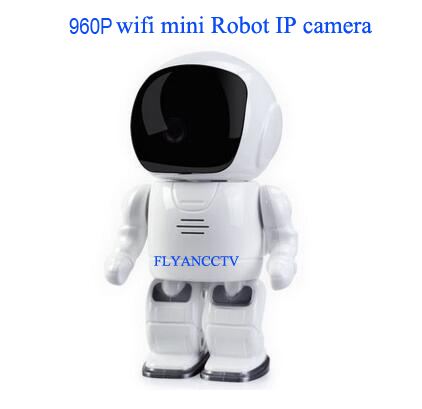 1.3MP Space Robot WiFi IP Camera 960P HD Pan-Tilt Home Security Camera Popular Alarm P2P Two Way Audio Network Wireless Cam IP
