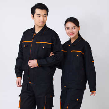 Work Clothing Men Women Uniform Long Sleeve Coveralls Protective Cloth Overalls for Worker Repairman Machine Auto Repair Welding - DISCOUNT ITEM  11 OFF All Category