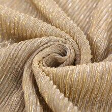 Nieuwe Shimmer Geplooide Hijab Sjaal Plain Shiny Rimpeluitvoering Sjaal Mode Moslim Hijaabs Vrouwen Maxi Veils Sjaals Islamitische Sjaal 20 Kleur
