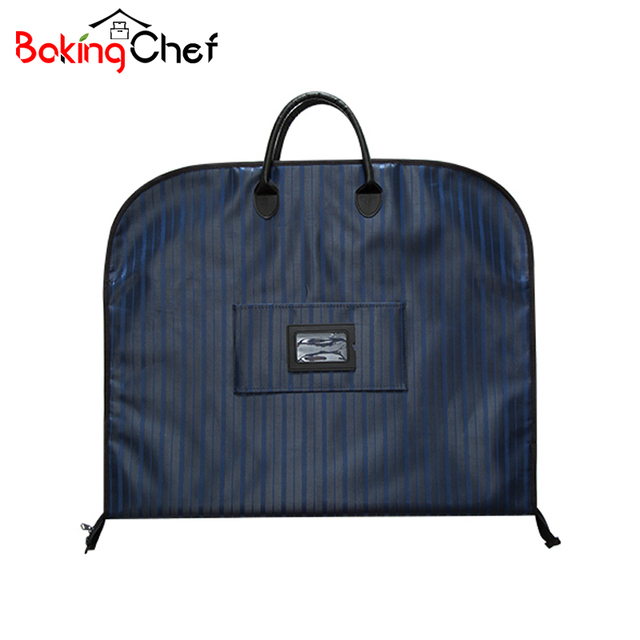 Bakingchef Men Suit Storage Bag Dustproof Hanger Organizer Travel Coat Clothes Garment Cover Case Accessories Supplies