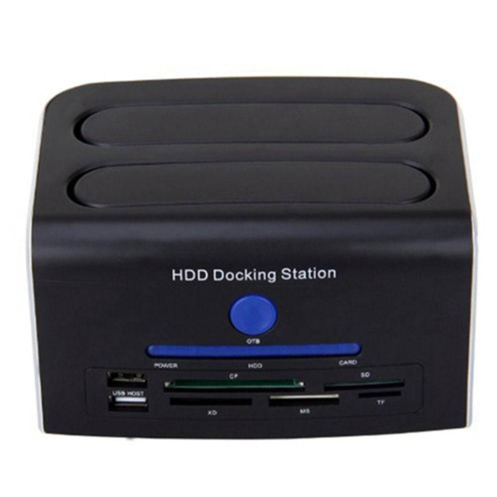 2.5 3.5 IDE & SATA eSATA USB 2.0 USB Port OTB 5 in 1 Card Reader HDD Docking Station-SCLL магнитный конструктор magformers magformers магнитный конструктор carnival set