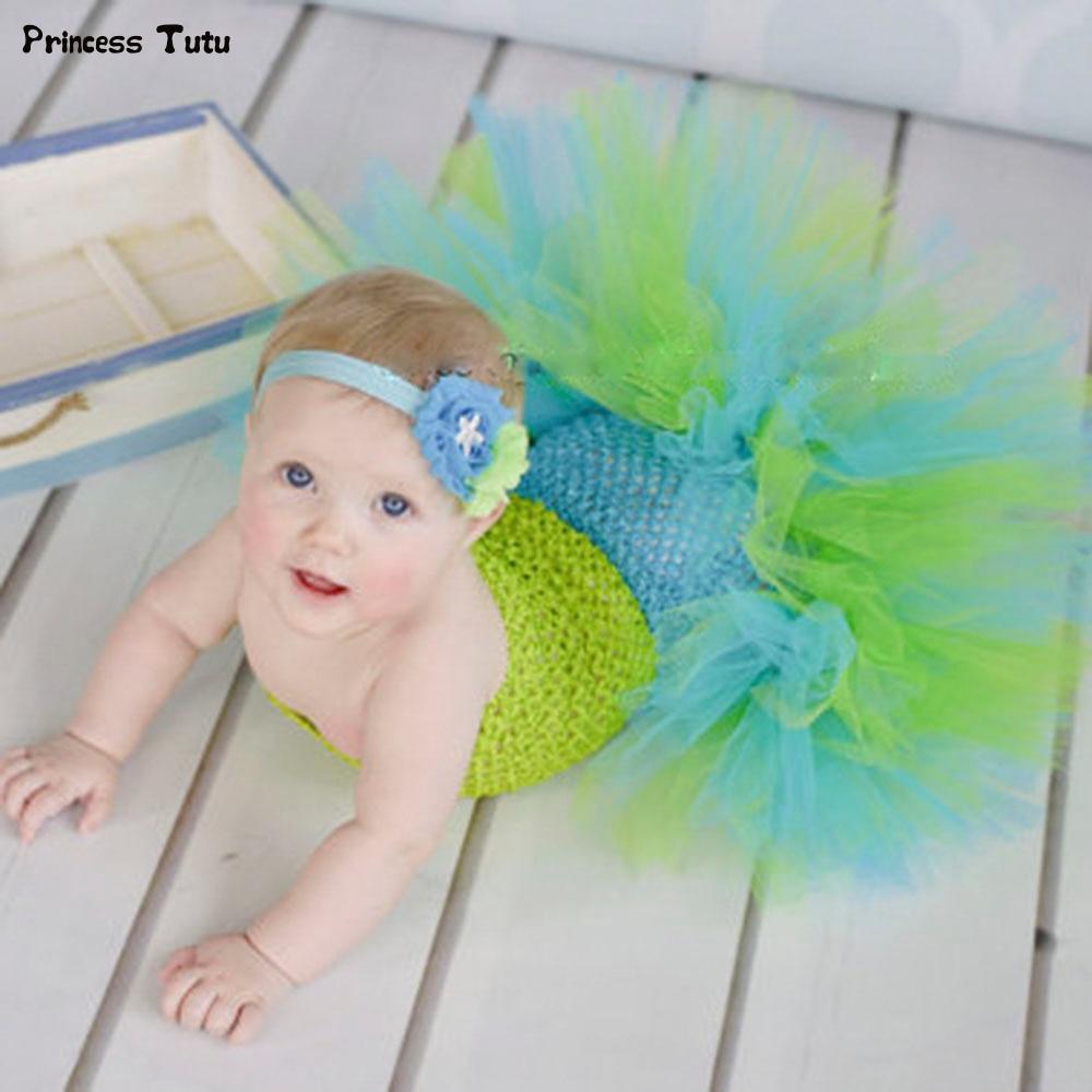 Baby Mermaid Ariel Fishtail Tutu Dress Infant Toddler Princess Fancy Dress Up Girls Kids Ballet Tutu Halloween Christmas Costume вечернее платье mermaid dress vestido noiva 2015 w006 elie saab evening dress