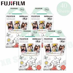 Image 1 - Fujifilm Instax Mini 8 9 Film Winnie pooh Fuji Instant Foto Papier 40 Vel 70 7 s 50 s 50i 90 25 Delen SP 1 2 Camera