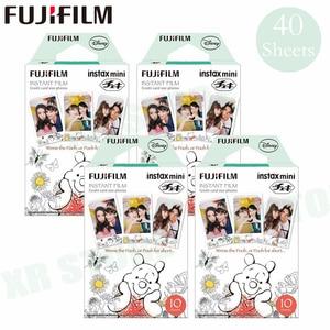 Image 1 - Fujifilm Instax Mini 8 9 Film Winnie pooh Fuji Instant Photo Paper 40 Sheets For 70 7s 50s 50i 90 25 Share SP 1 2 Camera