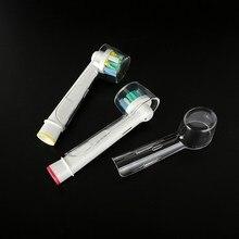 10 шт., дорожная электрическая зубная щетка, головка, защитный чехол, чехол для дома, кемпинга, улицы, оральные зубные щетки, головки для пыли