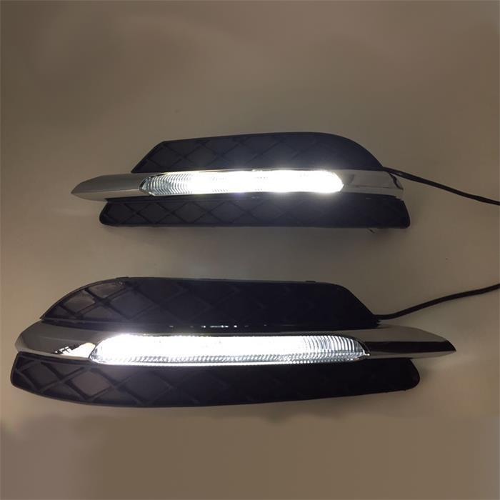 sports for Mercedes W204 C 180 200 250 260 300 day lights Automotive LED Traffic Lamp Fog Lamp