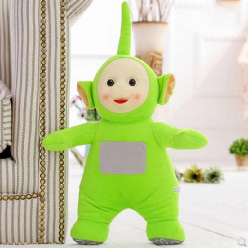 Venda quente Teletubbies Boneca Filme de Desenhos Animados Brinquedos de Pelúcia Crianças Brinquedos Do Bebê Com 3D Rosto Presente Para As Crianças