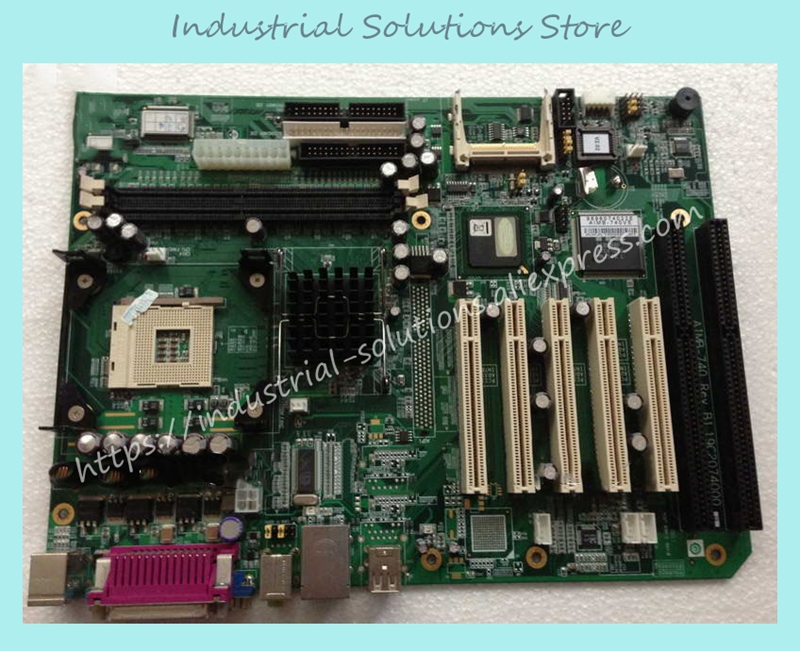 Industrial Motherboard Atx Motherboard Isa PCI Agp Control AIMB-740 100% tested perfect quality pca 6008vg industrial motherboard 100% tested perfect quality