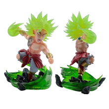 лучшая цена 18cm Anime Dragon Ball Z Tattoo Broli Piccolo PVC Action Figure Collectible Model Toy NS5