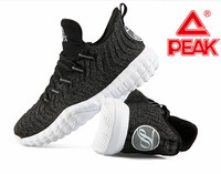 Peak new men's basketball shoes Parker cavalry combat outfield shoes lightweight woven classic sports shoes