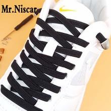 купить Hot Sale Lazy Shoelaces Elastic D Shape Metal Buckle No Tie Shoe Laces for Men Women Sport Casual Flat Shoelace Free Shipping дешево