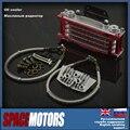 Rojo enfriador de aceite del radiador horizontal motor bike dirt bike pitbike truco mono ATV Kayo truco Irbis cr crf 50cc 70cc 80cc 125cc 140cc