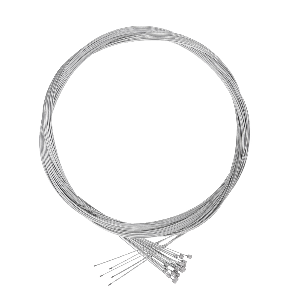 20 Pieces Bike Shift Shifter Derailleur Cable Galvanized Steel Inner Wire 2m 1mm