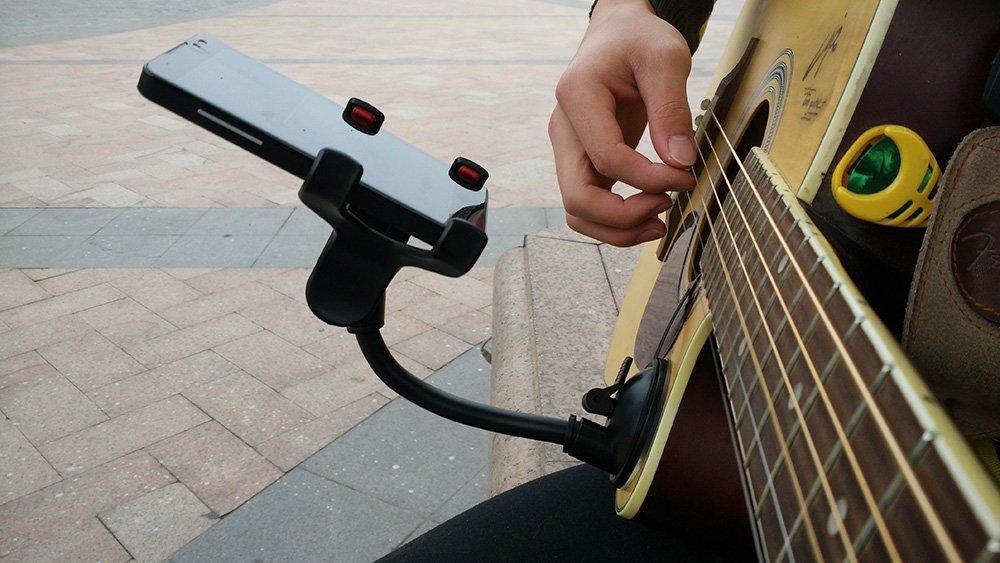 Guitar Phone Holder Car Holder Soporte Celular Para Auto