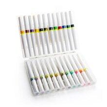 מעולה 12/24 צבעים קריצה של סטלה מברשת סמני גליטר מברשת ברק ניצוץ סמני עט סט ציור כתיבה