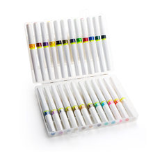 Superior 12/24 cores wink de stella escova marcadores glitter escova brilho brilho marcadores caneta conjunto para desenho escrita