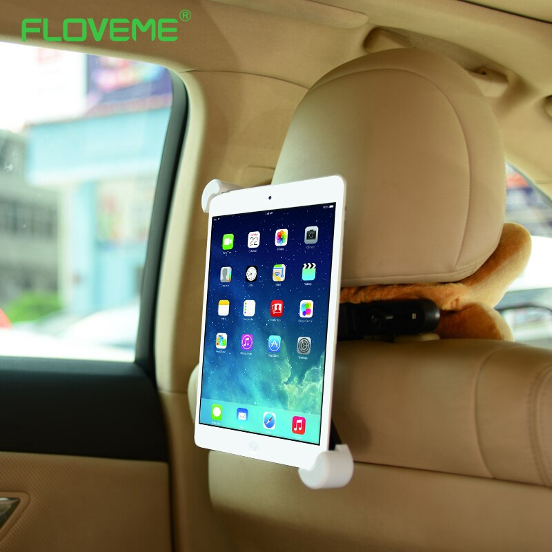 FLOVEME Car Back Seat Tablet Car Holder Stand Stents for ipad 2 3 4 5 6 mini 3 4 for Samsung tab 2 3 4 kindle Tablet Holder Car настенная плитка atlas concorde marvel pro travertino silver 30 5x91 5