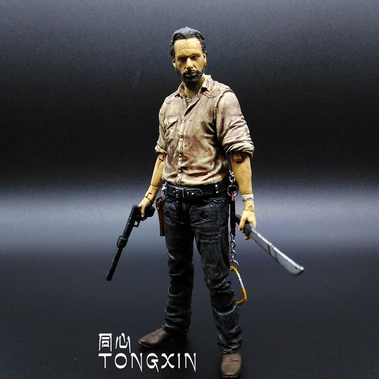 Zombie Resident Evil 5 Inch Sheriff Rick May Even Touching Hand to Do McFarlane Toys H8