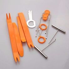 12pieces Car Interior Trim Panel Dash Audio Stereo GPS Molding Remove install Tool Plastic Panel Dashboard Removal Pry
