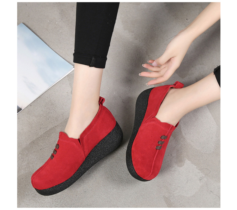 LL 3022-2019 Spring Autumn Women Wedge Shoes-10