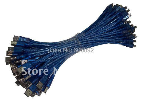 35pcs/lot USB 2.0 cable male to 5pin male 30cm hot sale Mini Usb Cable