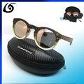 4544 Handmade Round Bamboo Sunglasses Women Vintage Wooden Sun glasses Men Brand Fashion Sports gafas de sol vintage