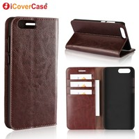 Phone Case For Asus Zenfone 4 ZE554KL Cover Luxury Wallet Genuine Leather Capa For Zenfone 4
