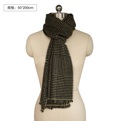 100%Cashmere Scarf Women Green Yellow Bird Plaid High Quality Natural Fabric Extra Soft &Warm 9-15Days Delivered Free Shipping