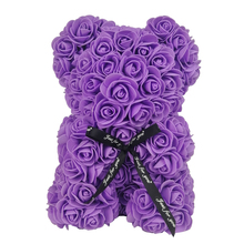 20/32 Cm Valentine's Romantic Artificial Rose Teddy Bear PE Rose Gift for Wedding Party Creative DIY PE Rose Doll