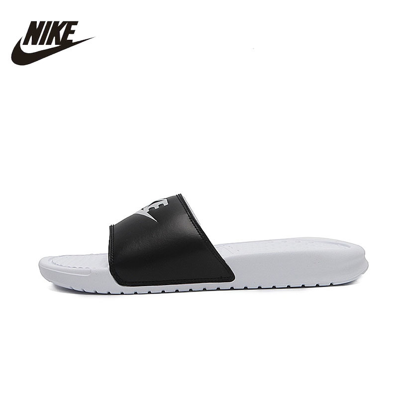 8f65b2903 NIKE Nike Benassi JDI Beach & Outdoor Sandals Summer Stability Quick Drying  Anti chlorine Sneakers For Women And Men Shoes-in Beach & Outdoor Sandals  from ...