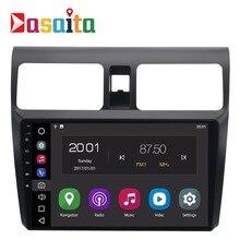 Car din radio android 8.0 GPS Navi for Suzuki Swift 2005 2006 2007 2008 2009 2010 navigation head unit multimedia stereo 2Gb Ram