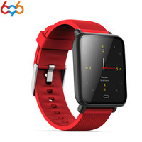 696 Q9 Color Screen Sport Smart Bracelet Heart Rate Blood Smart Wristband IP67 Life Waterproof Fitness Tracker Band for ios Andr