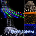 1.5m*1.5m 100Led Net Fairy Lights For Xmas Party Wedding Outdoor Decoration