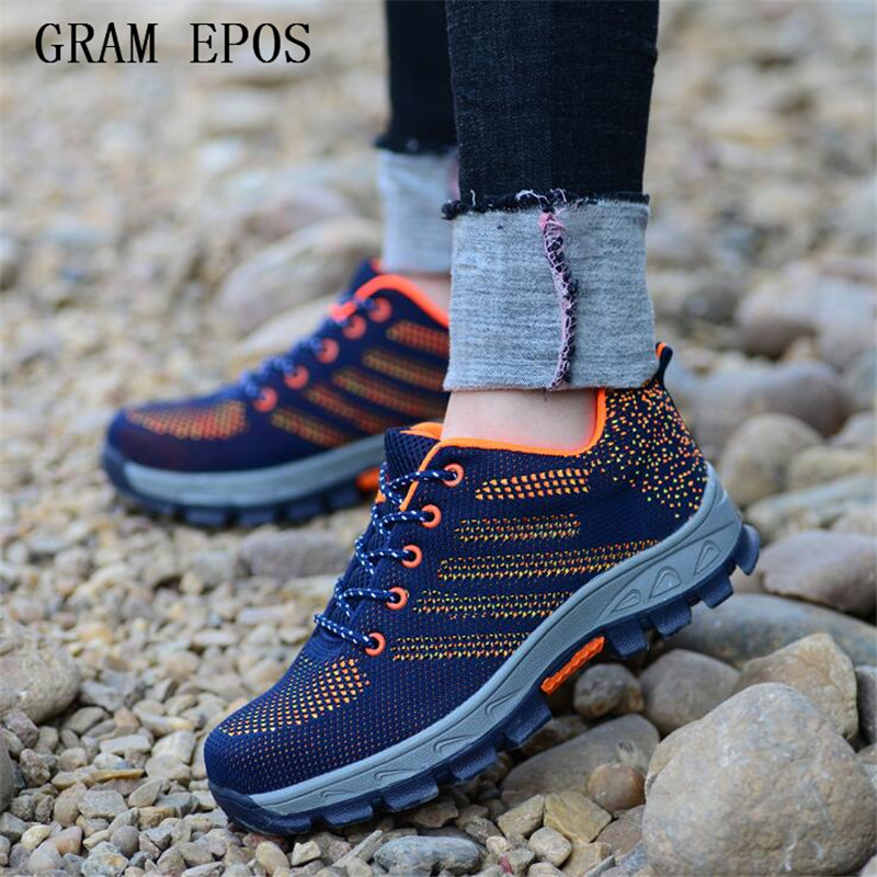 Gram Epos Air Mesh Boots Work Safety Shoes Steel Toe Cap For Anti-smash Puncture Proof Durable Breathable Protective Footwear Fashionable And Attractive Packages
