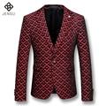 2016 Veste De Loisir Blazers Jackets Coats Herren Anzug Veste De Loisir Men's Casual Fashion Slim Fit Notched Lapel Blazers Male
