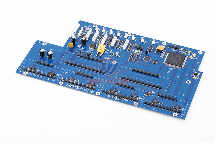 Free shipping!! 8H carriage board for infiniti printer (USB System) HQPTBV1.43-8 brand new inkjet printer spare parts konica 512 head board carriage board for sale