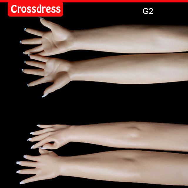 G2 Top quality transvestites and crossdresser for men silicone gloves latex gloves halloween party masks