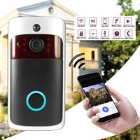Smart Wireless WiFi Security DoorBell Visual Recording Consumption Remote Home Monitoring Night Vision Smart Video Door Phone 5