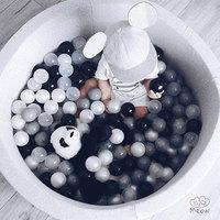 400 Pcs/Lot Eco Friendly Colorful Balls Soft Plastic Ball Outdoor Balls Kid Swim Pit Toys Water Pool Ocean Wave Ball Dia 5.5 cm