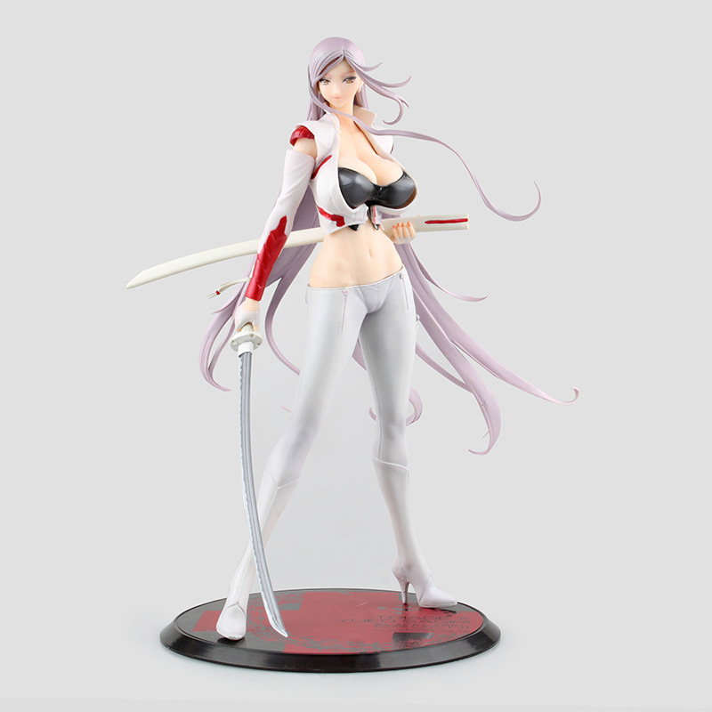 Anime Orchid Seed Triage X Yuka Sagiri PVC Action Figure Collectible Model doll toy 26cm вырубщик для значков handling cutter d 32мм