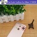 Original para Letv Le Max 2X820 Cámara Trasera de Reemplazo de Lentes de Cristal Del Teléfono Celular de Reparación de Piezas De Repuesto