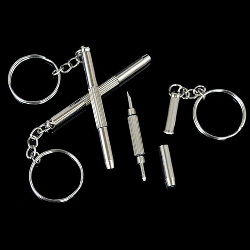 1 Stück Auto Schraubendreher Schlüsselbund Mini Reparatur Werkzeug Schlüssel Ring Für Motorrad Auto Volkswagen Bmw Mercedes Toyota Opel Zubehör