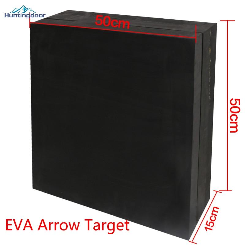 1pc Quality  Arrow Target Black EVA 50cm*15cm*50cm Shooting Target Archery Accessories For Bow Shooting Training Gaming