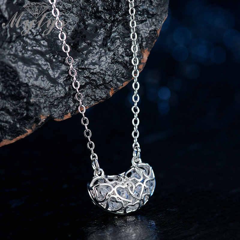 Mytys 3 цвета кристалл внутри кулон для уха для женщин подарок ко Дню Святого Валентина Модные украшения Любовь подруга CN490 CN491 CN492