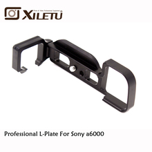 Xiletu LB-a6000 Professional L Ball Head Plate Quick Release QR Vertical Bracket For Sony a6000 Arca Standard Width 38mm