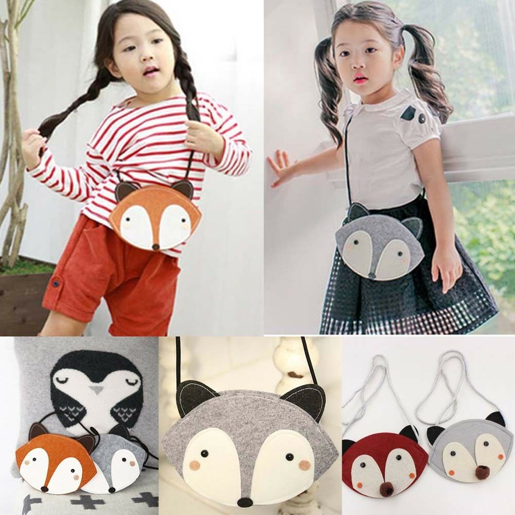 Hot Sale Toddler Kids Baby Girl Bag Cartoon Little Animal Bag Children Girls Cute Messenger Shoulder Bag Purse
