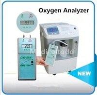 Высокая точность Портативный анализатор кислорода концентратор кислорода чистоты тестер анализатор кислорода чистотой кислорода Анализа