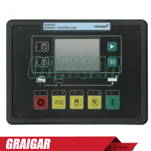 Harsen Auto Module /Automatic Start Generator Controller GU620A-00, upgrades from GU620A fast shipping 6 pins 5kw ats three phase 220v 380v gasoline generator controller automatic starting auto start stop function