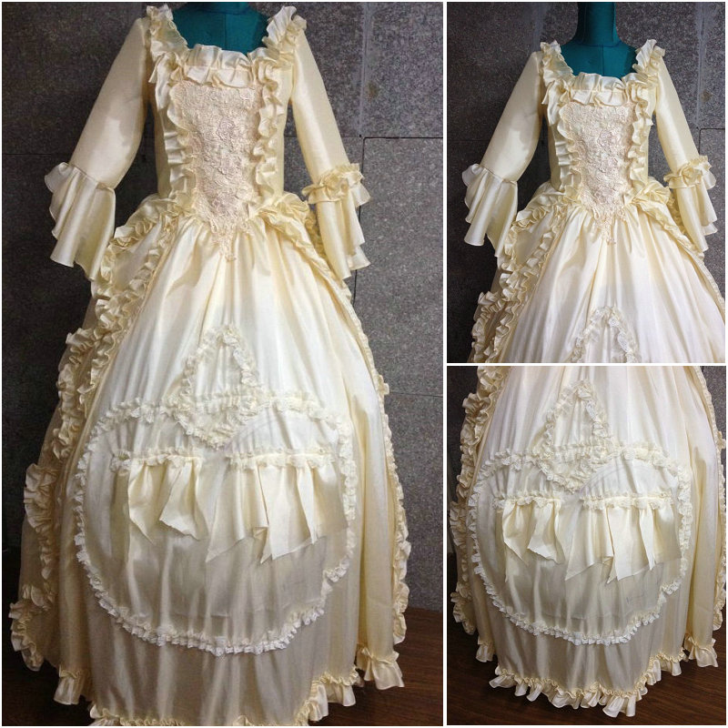 On sale D 110 Victorian Gothic Civil War Southern Belle Ball Gown Dress  Halloween Theater Edwardian dresses Sz US 6 26 XS 6XL-in Dresses from  Women s ... d7068a1c3e0d